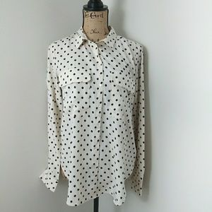 Kut From The Kloth Button Down Blouse Size S NWT